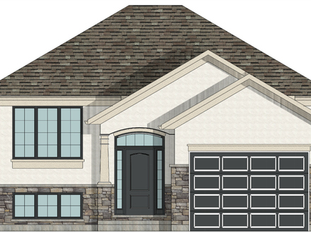 Raised Bungalow Canadian House Plans Raised Bungalow House Plans Canada