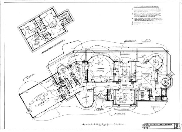Residential Electrical Plan House Electrical Blueprints ...