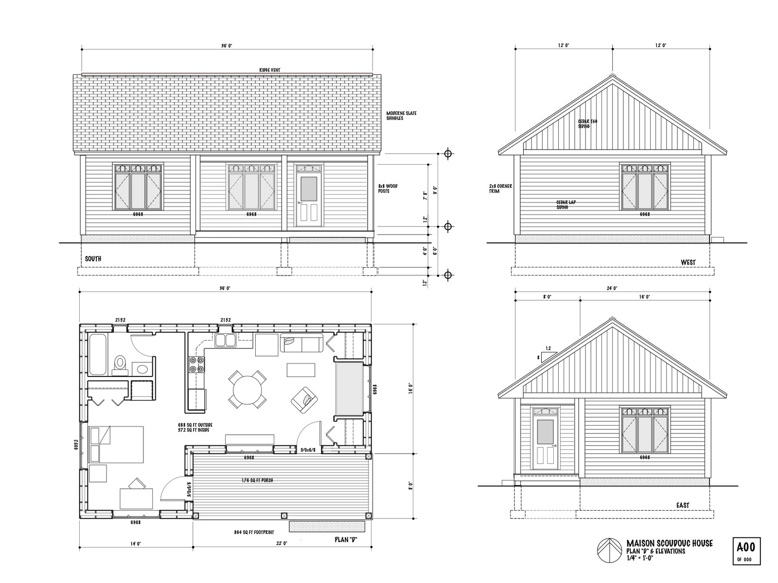 Small house designs super small house floor plans for Tiny house on foundation plans