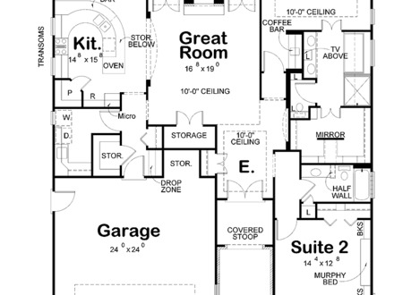 Small Modern House Interiors Modern Two Bedroom House Plans