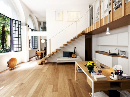 Stairs with Open Loft House Designs Loft and Stair Railings