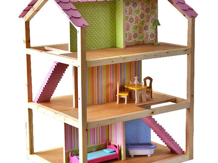 Vintage Dollhouse DIY Dollhouse Plans