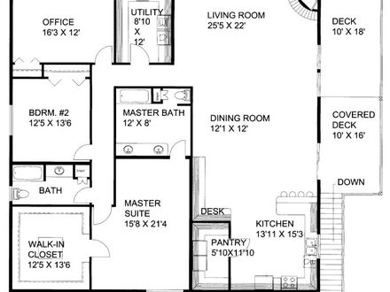 2500 sq ft house plans 2500 sq ft home 3 bedroom floor for 3500 sq ft ranch house plans