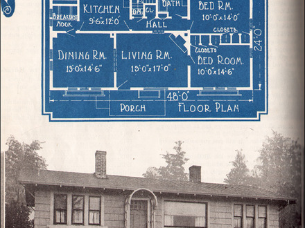 Airplane 1920 Bungalow House Plans 1920s Sears House Plans