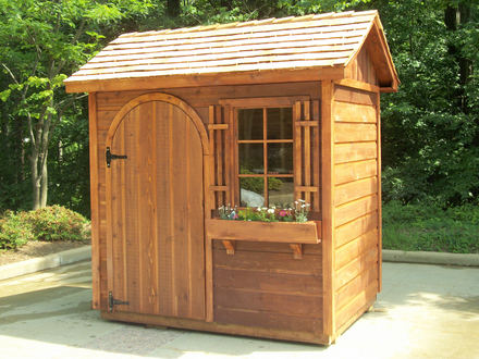 Garden Storage Sheds Small Garden Shed Ideas