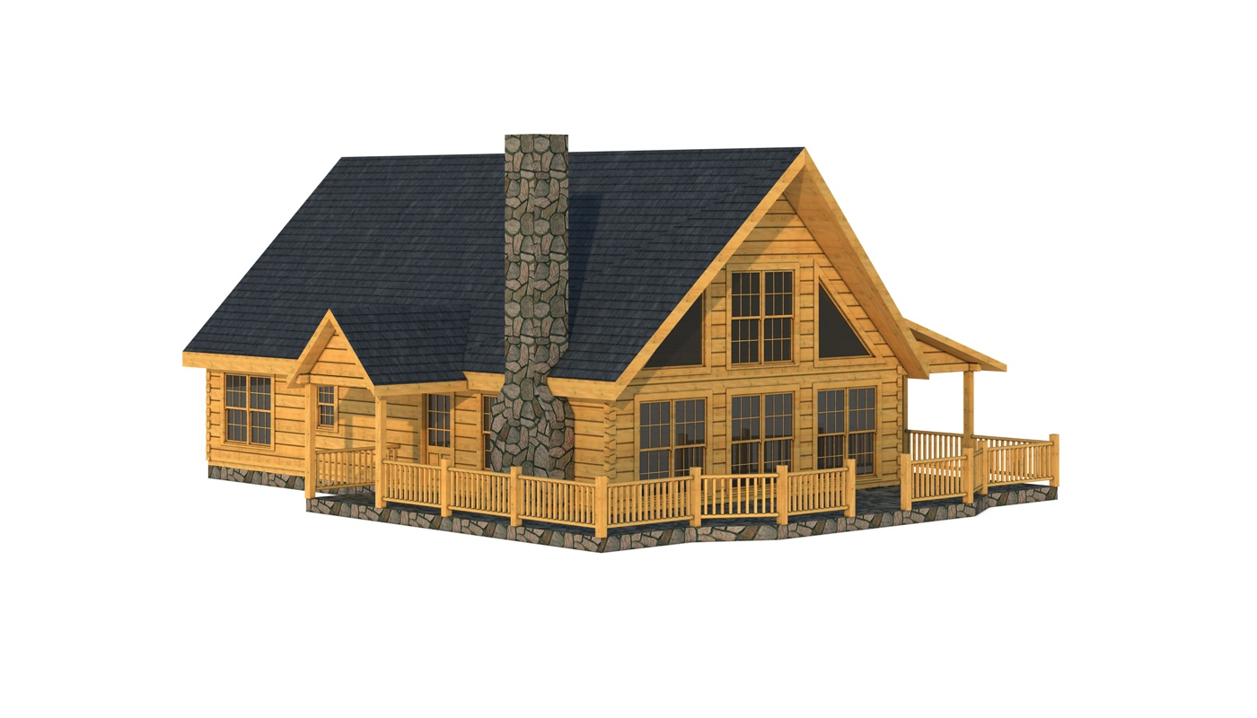 Log cabin floor plans under 1500 square feet log cabin for Log cabin layout plans