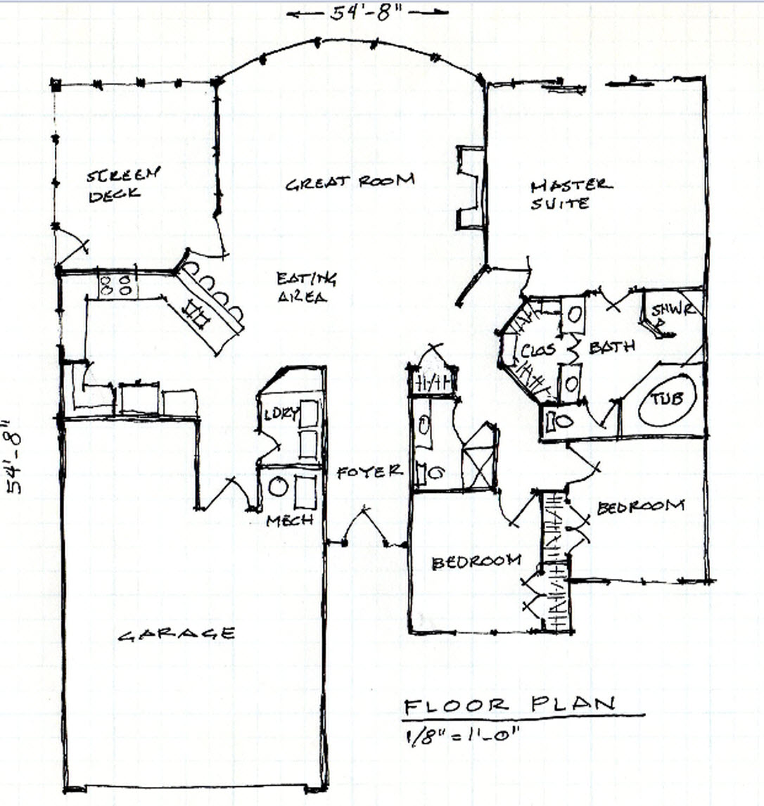 Patio home floor plans 3 bedroom patio home plans lake for Patio home designs