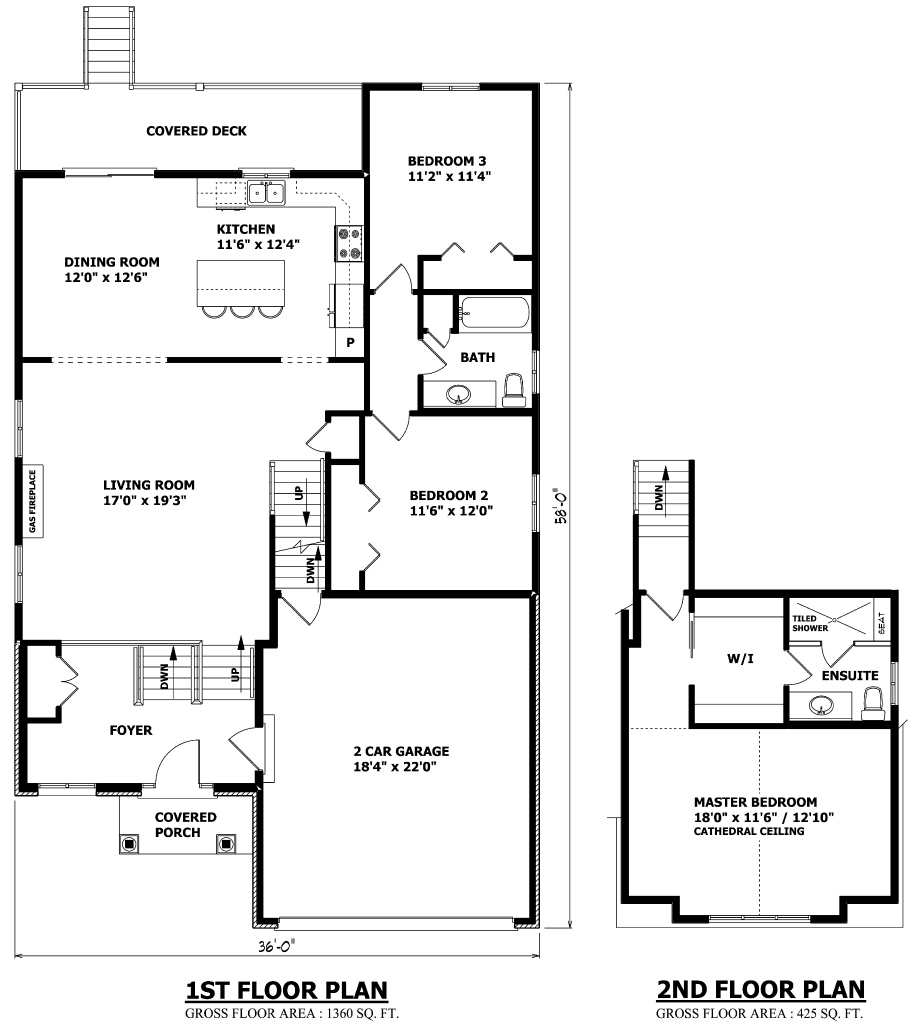 Raised bungalow canadian house plans raised bungalow house for Canadian house plans bungalow
