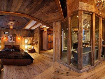 Rocky Mountain Log Cabins Montana Log Cabin Master Bathrooms