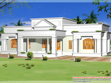 Single Storey House Design Plan Modern Single Story House Plans