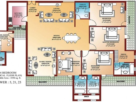 Small 4 Bedroom House Plans 4 Bedroom House Plans Nigeria