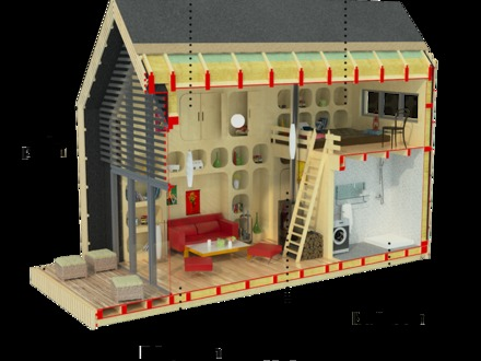 Small Cabin House Plans with Loft Small Cabin Plans and Designs