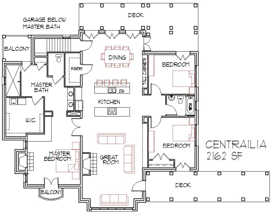 Small Home Open Floor House Plans Floor Plans Open to Kitchen Remodeling Ideas