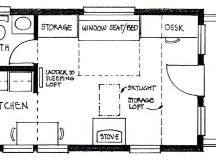 Tiny House Interior Tiny House Floor Plans with Loft