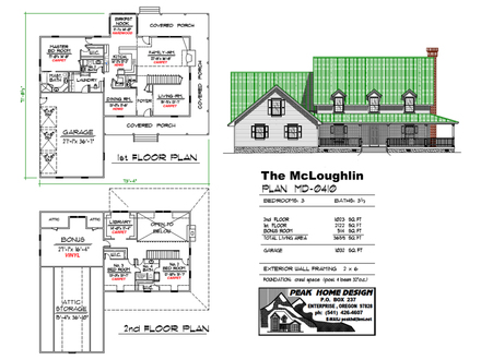 Click Here to Start CLICK HERE TO DOWNLOAD OR PRINT THE MCLOUGHLIN HOUSE PLAN MD0410