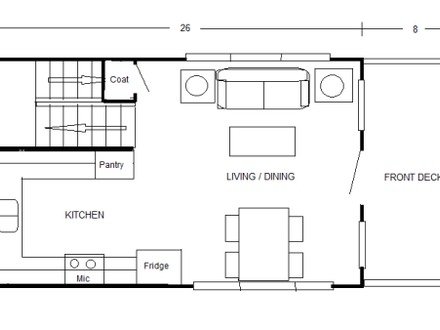 2 bedroom floor plans for 700 sq ft house open floor plans for 800 sq ft open floor plans