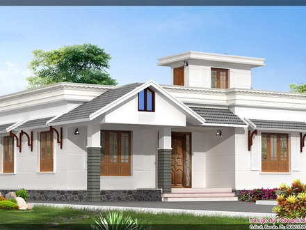 Simple Bungalow House Simple Single Story House Design
