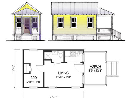 Small Cottage House Plans 700 1000 Sq FT cottage plans, small house plans, cabin plans, small homes designed by
