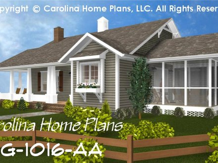 Small Cottage House Plans One Story Southern House Plans Small Cottage