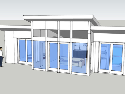 Small Modern House Designs Philippines Small Modern House Design Google SketchUp