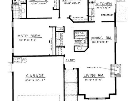 Changing Room Names Reflect How We Live likewise One Room Cabins also House Plans also 2 Story Colonial House Floor Plans besides Floor Plans. on single story bungalow house plans