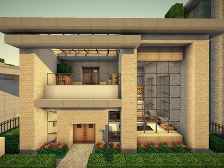 Small Modern House Minecraft Cool Small Minecraft Houses
