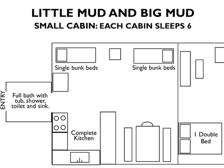 24 by 24 Hunting Cabin Floor Plans Hunting Cabin Floor Plans