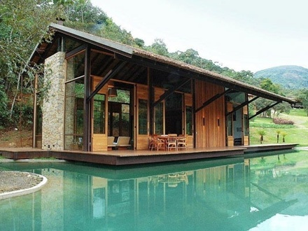 Luxury Waterfront Small House Small House Home Kit