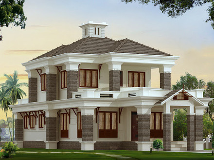 Bungalow house designs two storey house designs bungalow for East texas house plans