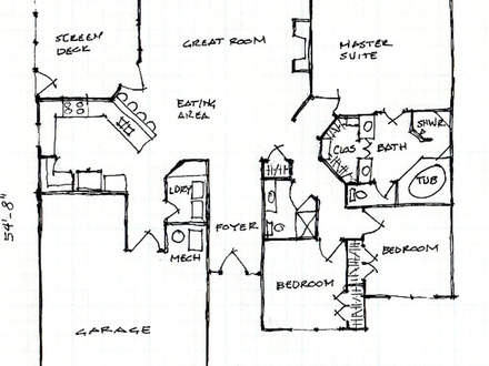 Unique open floor plans floor plans lake floor plans for Patio home plans ranch