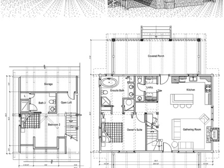 Rustic cabin floor plans cabin floor plan small cabin for Off the grid home design plans