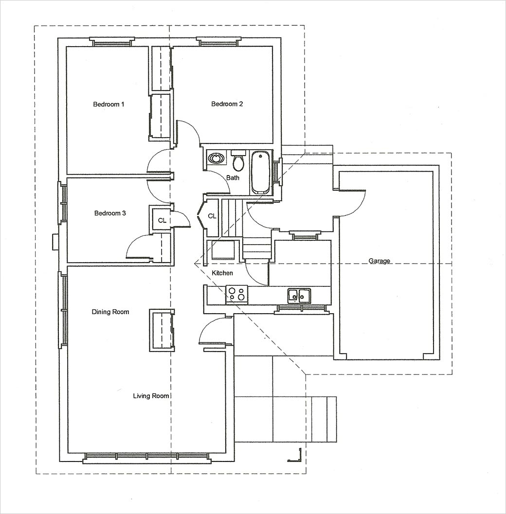 Vintage bungalow house plans bungalow floor plan bungalow for Bungalow floor plans