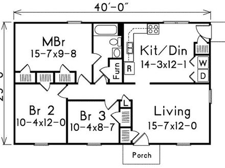 1000 Sq Foot House Plans 3 Bedroom 1000 Square Foot House Plans