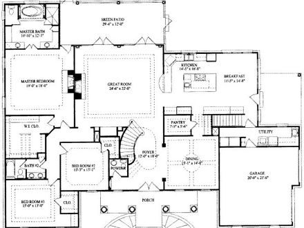 9 Bedroom House 7 Bedroom House Floor Plans