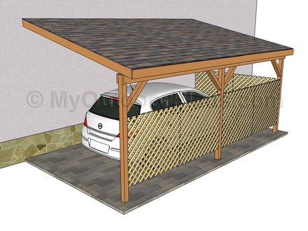 Attached Carport Plans Designs Attached Carports in Plano TX