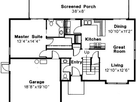 Small House Plans 3 Bedrooms 3 Bedroom Floor Plans with Double Garage