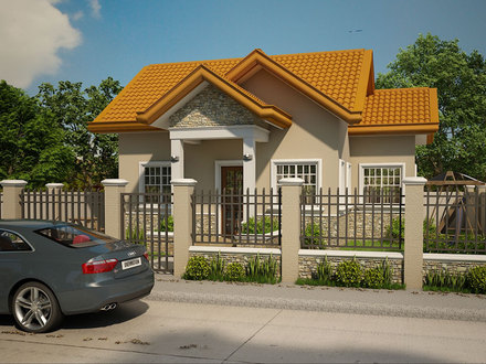 Small House with Open Floor Plan Designs Small House Design