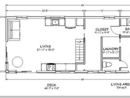 600 Sq Ft. House Layout 600 Sq FT Cabin Floor Plans