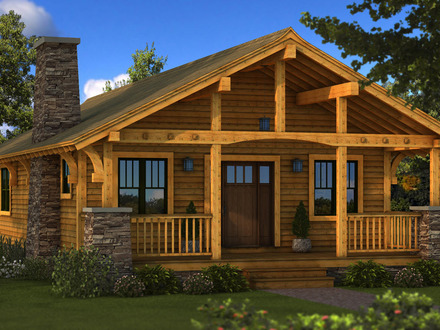Small Log Cabins to Build Small Log Cabin Homes Plans
