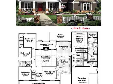 Bungalow Floor Plan Small Bungalow House Plans