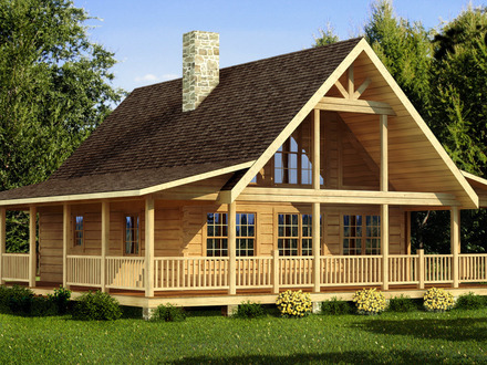 Small Log Cabin Home House Plans Small Log Cabins with Lofts