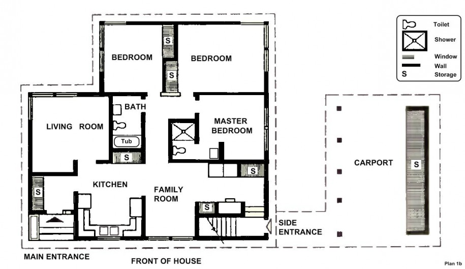 Two Bedroom House Floor Plans Small Two Bedroom House Plans
