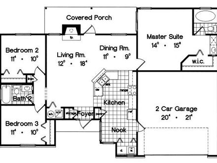1300 Square Foot House Plans Houses in the 1300s