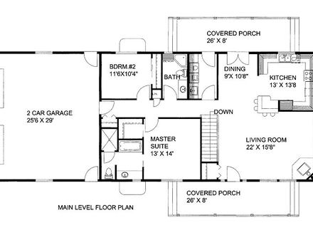 Farm house 1500 sq ft house 1500 sq ft house plans with for 1500 sq ft ranch house plans with garage