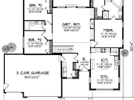 1930s bungalow house plans 1930s bungalow style house for 1930s house plans