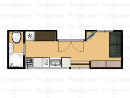 8 X 18 Tiny House On Wheels Floor Plans 8 X 18 Picture Frames
