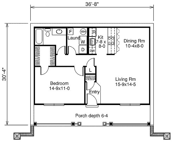 Bedroom house floor plans 18 one bedroom house floor plans for 15 bedroom house plans