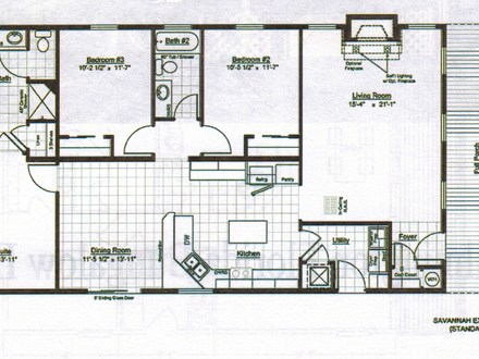Bungalow Home Design Floor Plans Bungalow Interior Design