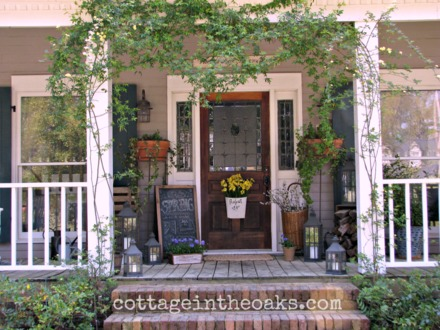 Country Front Porch Decorating Ideas Spring Front Porch Ideas