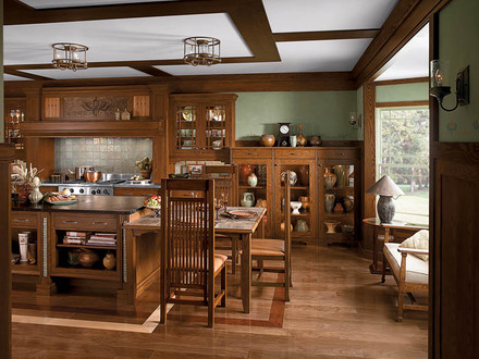 Craftsman Style Home Interiors Kitchen Single Story Craftsman Style Homes